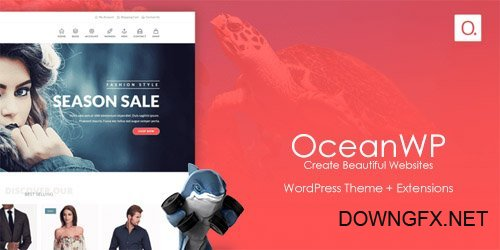 OceanWP v1.4.12 - WordPress Theme + Extensions