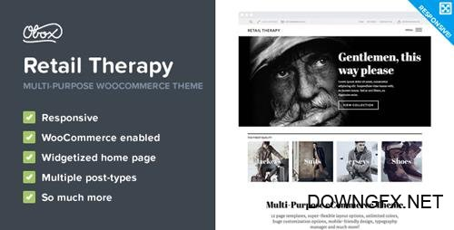 ThemeForest - Retail Therapy v1.3.6 - Multi-Purpose eCommerce Theme - 5636873