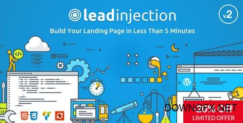 ThemeForest - Leadinjection v2.2.2 - Landing Page Theme - 14532230