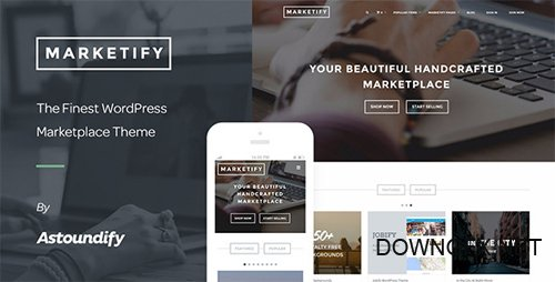 ThemeForest - Marketify v2.14.2 - Digital Marketplace WordPress Theme - 6570786