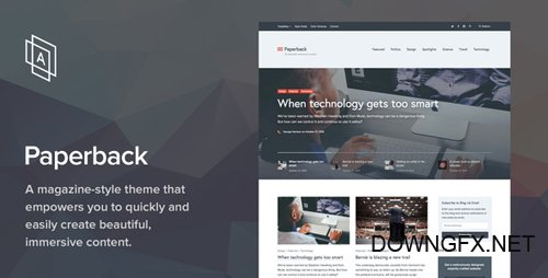 ThemeForest - Paperback v1.7.8 - Magazine WordPress Theme - 13511026