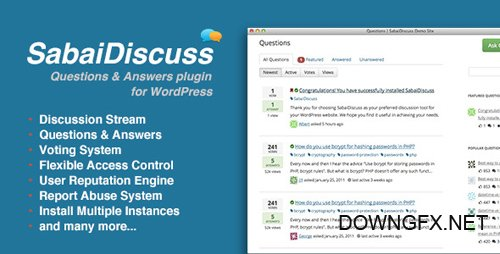 CodeCanyon - Sabai Discuss plugin for WordPress v1.3.46 - 3455723