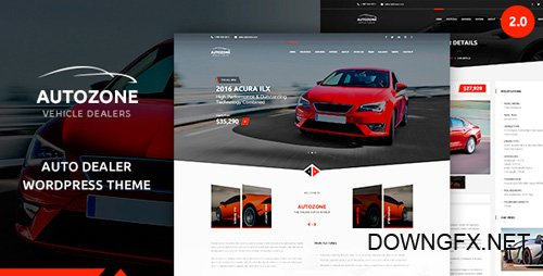 ThemeForest - Autozone v2.2.0 - Automotive Car Dealer - 15911085