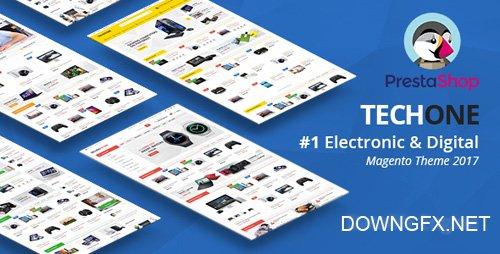 ThemeForest - TechOne v1.0.5 - Multipurpose PrestaShop 1.7 Theme - 20383869