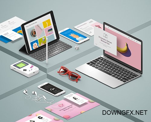 UI Isometric Devices Pack Vol3
