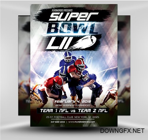 PSD Superbowl Flyer v2