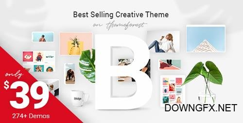 ThemeForest - Bridge v13.4 - Creative Multi-Purpose WordPress Theme - 7315054