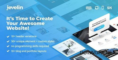 ThemeForest - Jevelin v2.5.6 - Multi-Purpose Premium Responsive WordPress Theme - 14728833