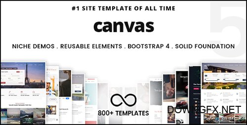 ThemeForest - Canvas v5.0.3 - The Multi-Purpose HTML5 Template - 9228123