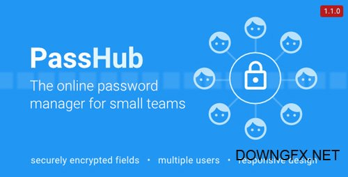 CodeCanyon - PassHub v1.1.0 - online password manager - 13288667