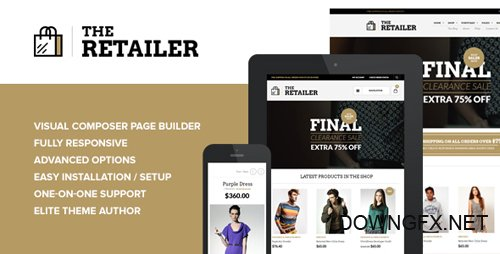 ThemeForest - The Retailer v2.7.9 - Responsive WordPress Theme - 4287447