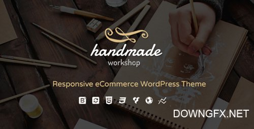 ThemeForest - Handmade v3.5 - Shop WordPress WooCommerce Theme - 13307231