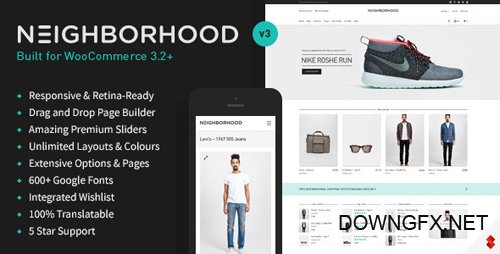 ThemeForest - Neighborhood v3.4.73 - Responsive Multi-Purpose Shop Theme - 5086341