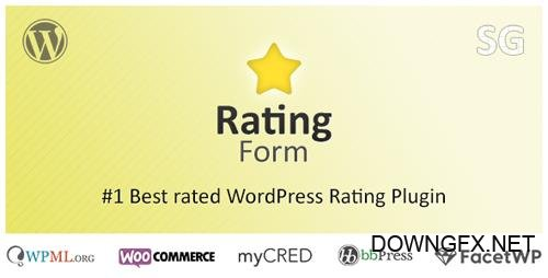 CodeCanyon - Rating Form v1.5.6 - WordPress Rating Plugin - 10357679