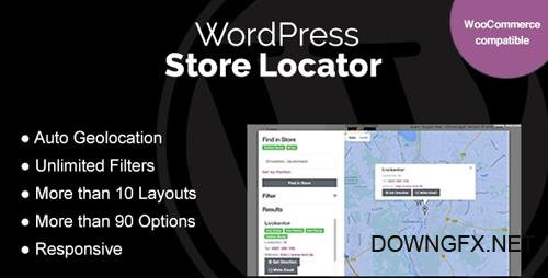 CodeCanyon - WordPress Store Locator v1.6.3 - 15762057