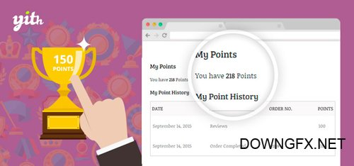YiThemes - YITH WooCommerce Points and Rewards v1.4.3