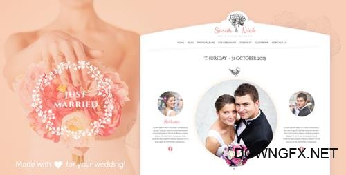 ThemeForest - The Wedding Day v18.3 - Wedding & Wedding Planner - 5872261