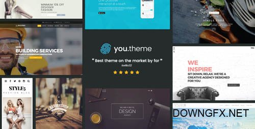 ThemeForest - You v1.6 - Multi-Purpose Responsive WordPress Theme - 15175900