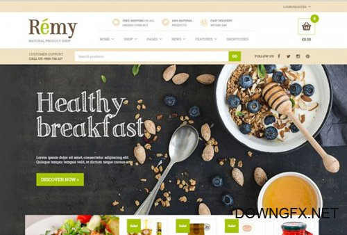 YiThemes - YITH Remy v1.1.8 - A Simple And Tasty Food And Restaurant WordPress Theme