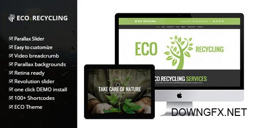 ThemeForest - Eco Recycling v1.6.0 - A Multipurpose & Nature Ecology WordPress Theme - 7970296