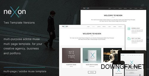 ThemeForest - NeXon v2.0 - Multi-Purpose Creative Muse Template - 7796213