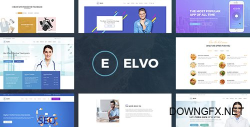 ThemeForest - ELVO - Business Multipurpose PSD Template (Update: 30 October 17) - 20741286