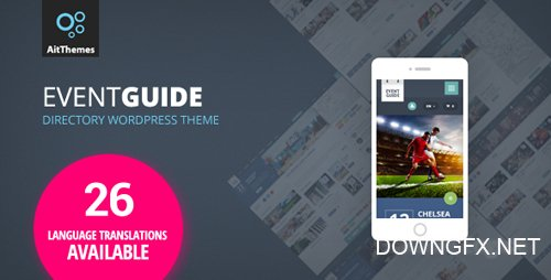 ThemeForest - Event Guide v2.24 - Ultimate Directory Listing Theme for Events, Concerts, Gigs, Museums or Galleries - 17141028