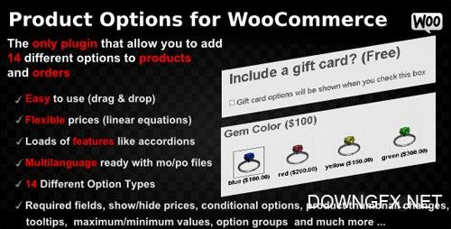 CodeCanyon - Product Options for WooCommerce v4.160 - WordPress Plugin - 7973927