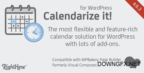 CodeCanyon - Calendarize it for WordPress v4.6.3.82849 - 2568439