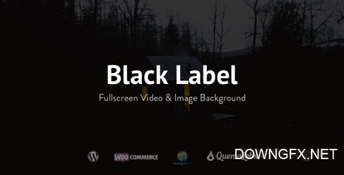 ThemeForest - Black Label v4.0.6 - Fullscreen Video & Image Background - 336949