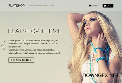 Themify - Flatshop v2.0 - WordPress Theme