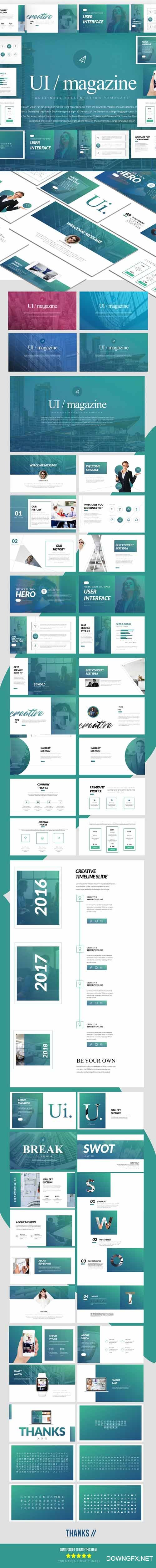 GR - Magazine - Multipurpose Presentation Templates 21484857