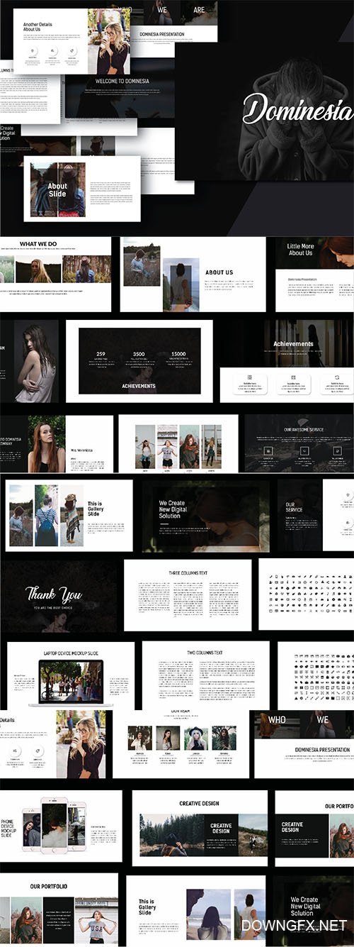 Powerpoint Template - Hipster
