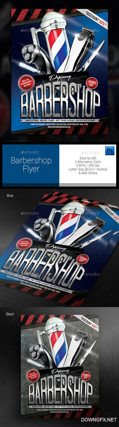 Barbershop Flyer 12001733