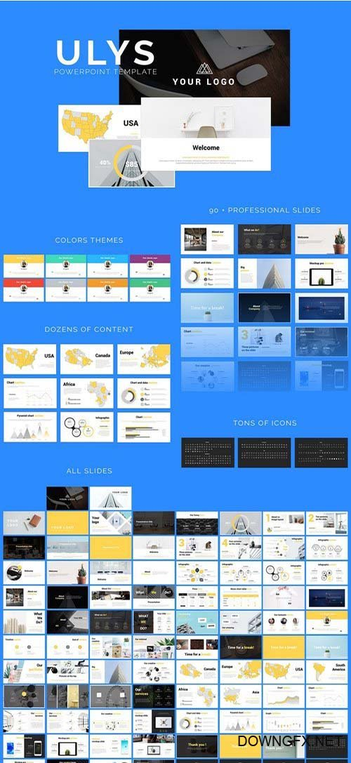 Ulys Powerpoint Template