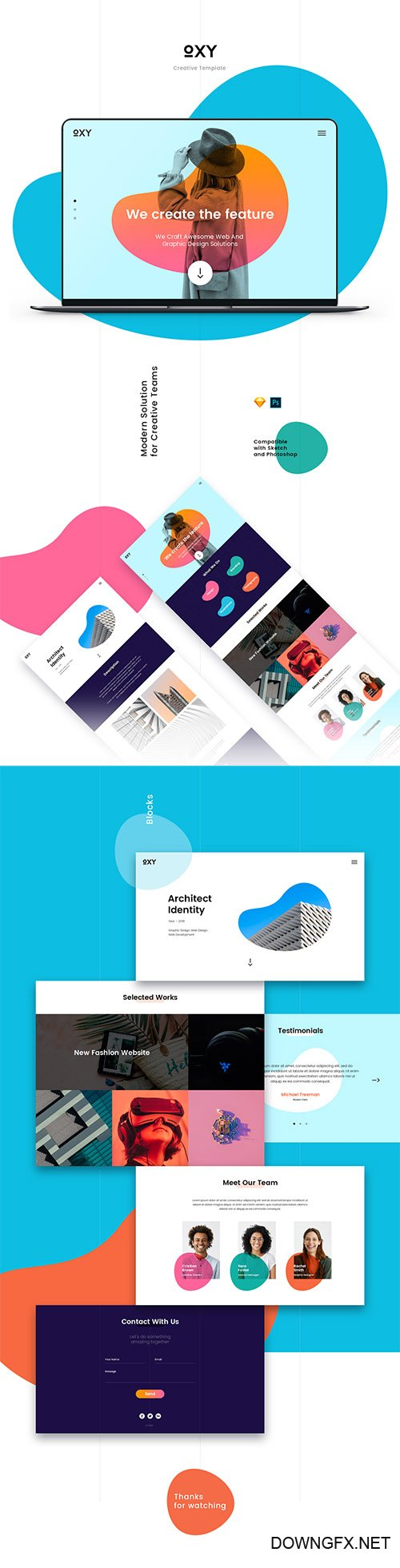 Oxy Creative Template