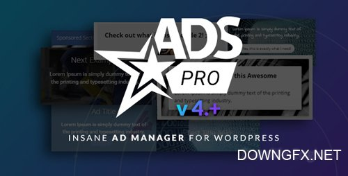 CodeCanyon - Ads Pro Plugin v4.2.12 - Multi-Purpose WordPress Advertising Manager - 10275010