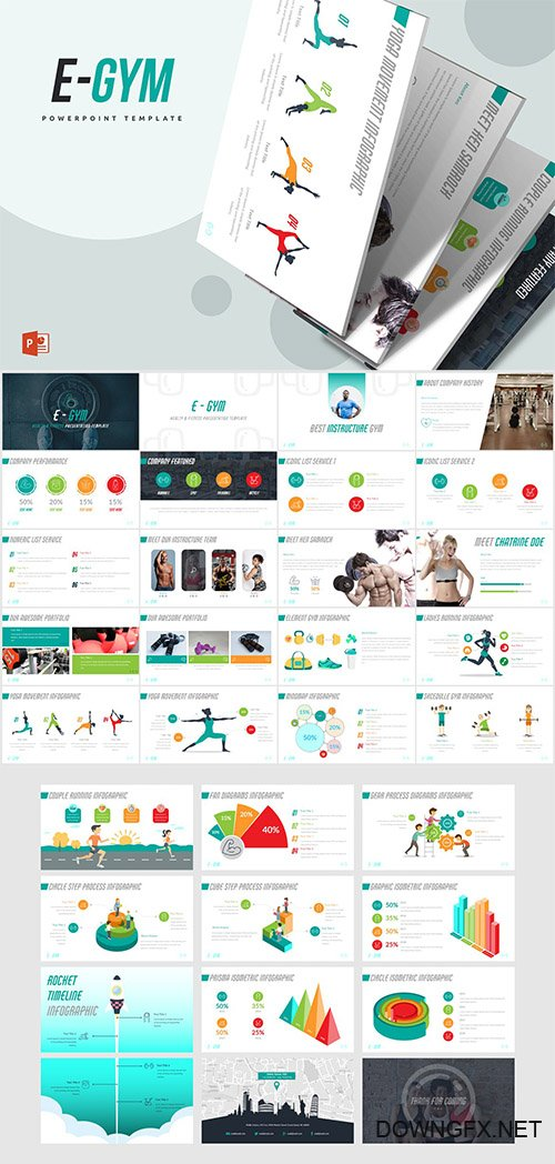 EGym Powerpoint Template