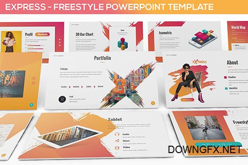 Express - Powerpoint Template