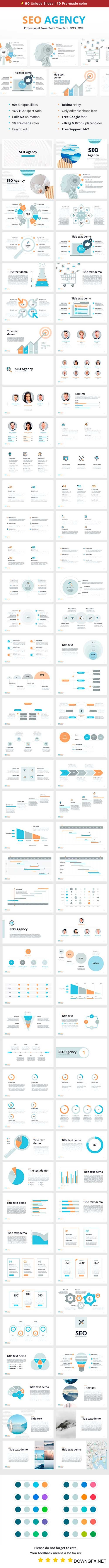 SEO Agency for PowerPoint 21831107