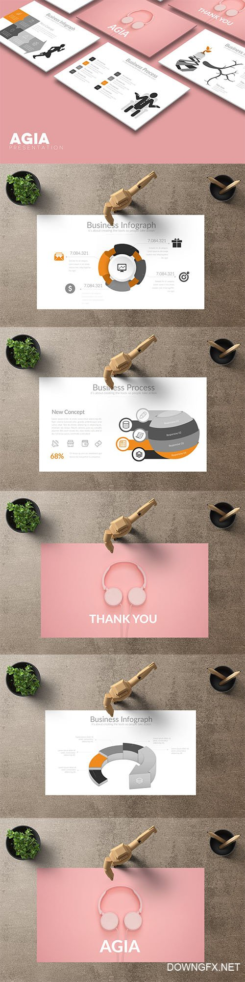 AGIA Powerpoint Template