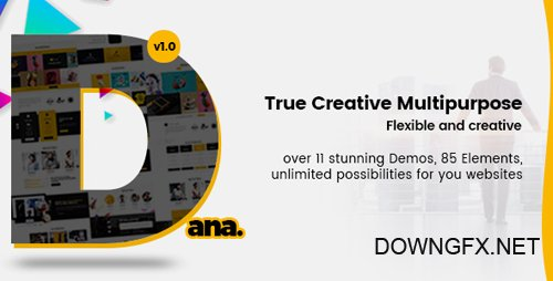 ThemeForest - Dana v1.0 - Ultimate Multi-Purpose Corporate Business and Agency PSD Template - 21158286