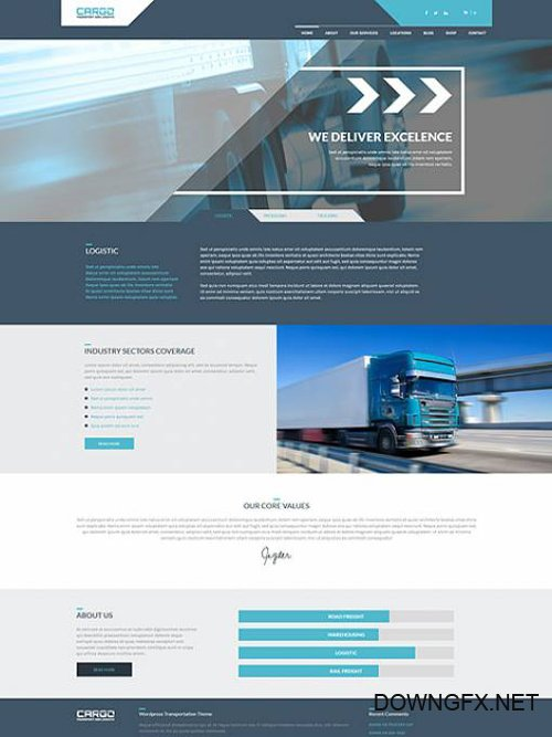 Ait-Themes - Cargo v1.31 - Transport And Logistic WordPress Theme