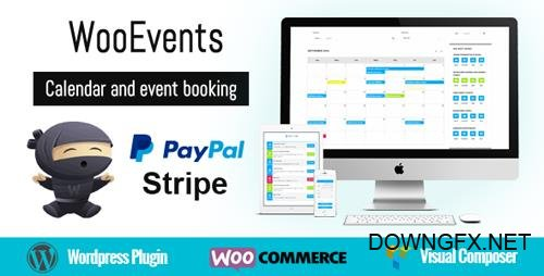CodeCanyon - WooEvents v3.3.2 - Calendar and Event Booking - 15598178
