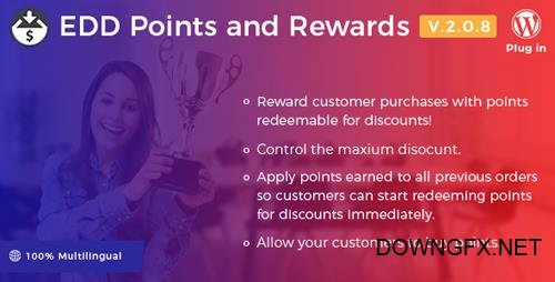 CodeCanyon - Easy Digital Downloads v2.0.8 - Points and Rewards - 20786389