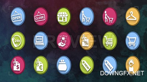 MA - Ultimate Shopping Icons Pack 87112
