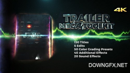 Trailer Mega Toolkit - Project for After Effects (Videohive)