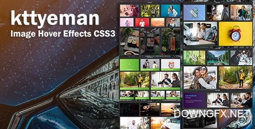 CodeCanyon - kttyeman v1.0 - CSS3 Image Hover Effects - 22018177