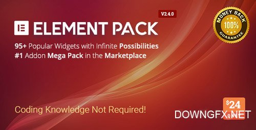 CodeCanyon - Element Pack v2.4.1 - Addon for Elementor Page Builder WordPress Plugin - 21177318