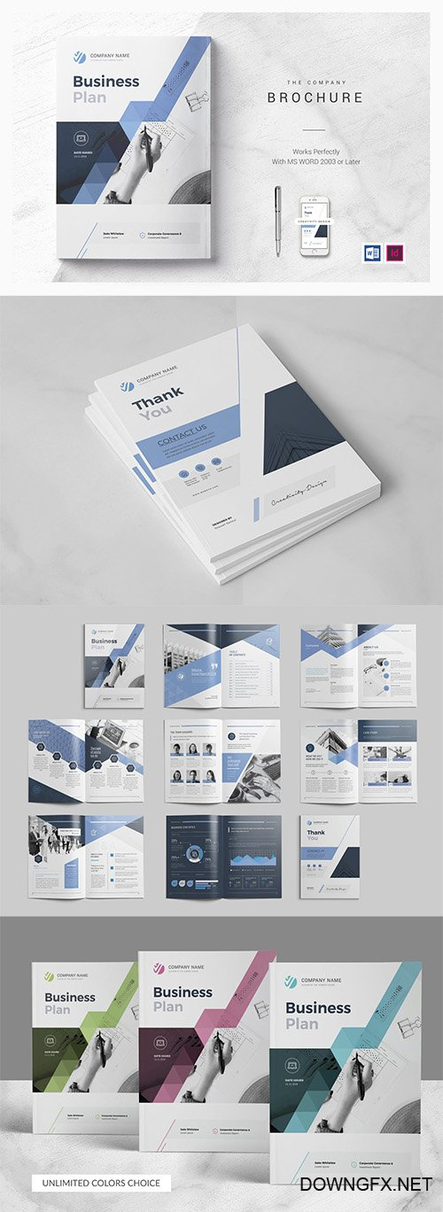 Business Plan Indesign